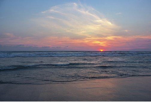 Beach, Sea, Ocean, Is, Bay, Shore, Mexico, Family