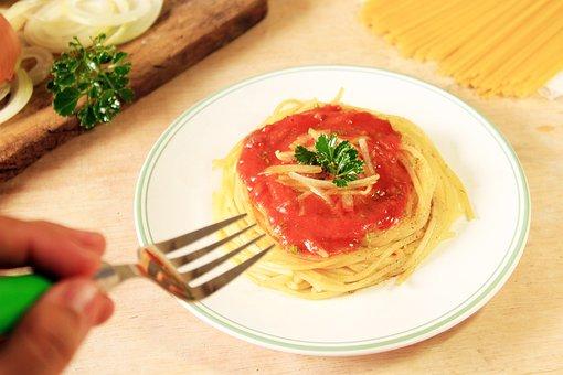 Dish, Spaghetti, Pasta, Noodles, Food, Delicious, Tasty