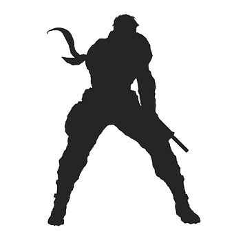 Warrior, Superhero, Silhouette, Man, Male, Hero