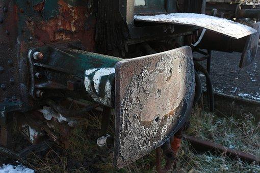 Wagon, Train, Rust, Railway, Old, Transport, Trains