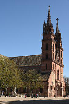 Church, City, Building, Architecture, Middle Ages