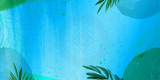 Background, Banner, Template, Header, Graphics, Leaves
