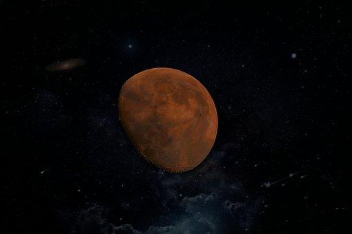 Moon, Craters, Satellite, Celebrities, Space, Sky