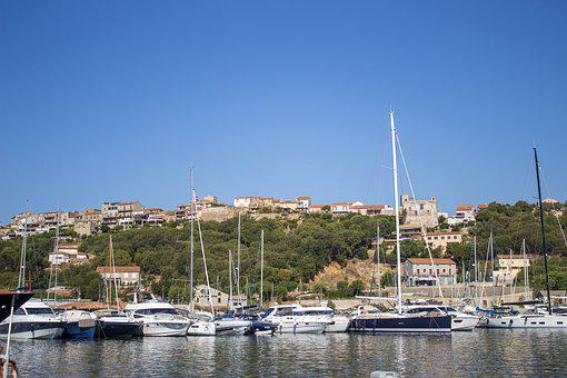 Port, Boats, Town, Sea, Ocean, Bay, Water, Harbor