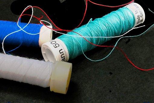 Needle, Thread, Sewing, Tailoring, Yarn, Sewing Thread