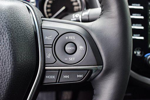 Auto, Machine, Steering Wheel, Office, Button