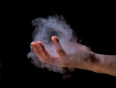 Hand, Smoke, Magic, Cigarette, Concert, Hands