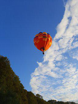 Sky, Balloon, Clouds, Nature, Landscape, Air, Travel