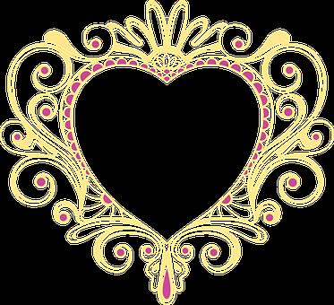 Heart, Frame, Romantic, Photo Frame, Decorative