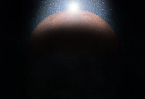 Space, Planet, Mars, Astronomy, Moon, Sun, Galaxy