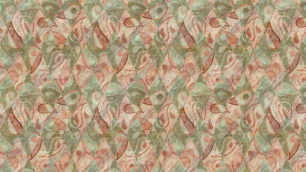 Background, Geometric, Paisley, Pattern, Abstract