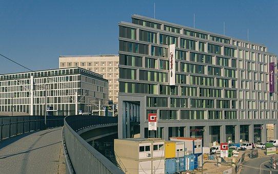 Building, Hotel, Modern, Downtown, Development