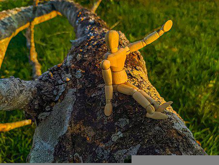 Toy, Model, Miniature, Wood, Small, Creative, Funny