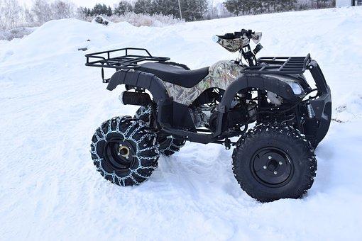 Snow, Winter, Speed, Atv, Vacation, Racing, Rims