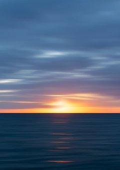 Sunset, Ocean, Sea, Sky, Nature, Water, Sun, Seascape