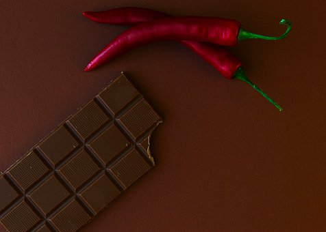 Chocolate, Chili, Food, Dessert, Snack, Treat, Sweet