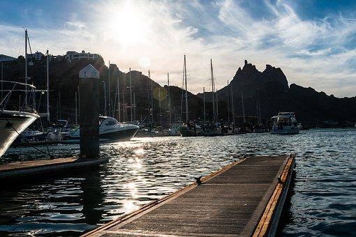 Port, Yachts, Dock, Jetty, Bay, Sea, Water, Harbor