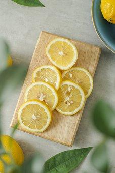 Lime, Lemon, Yellow, Juice, Slides, Fresh, Fruit, Juicy