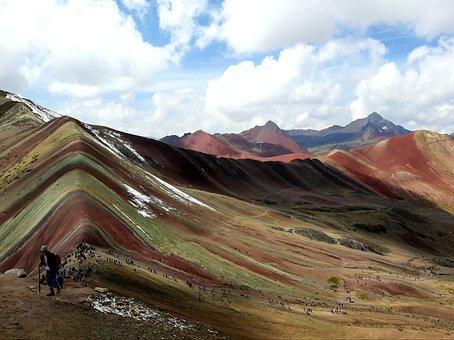 Nature, Landscape, Colores, Siete Colores, Sky, Trees