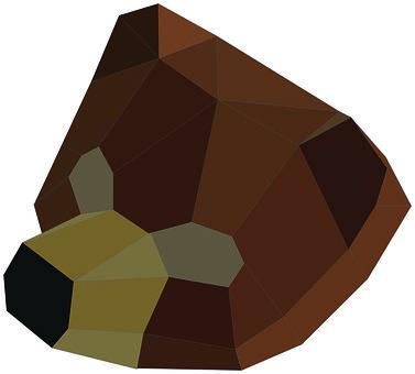 Bear, Poly, Triangle, Geometric, Design, Polygon