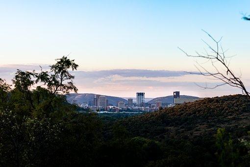 Pretoria, City, City Centre, Urban, Buildings
