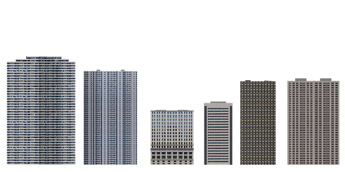 Buildings, Architecture, Facades, Exterior, Cut Out