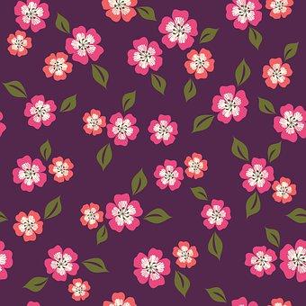Flower, Pattern, Floral, Leaves, Design, Colorful