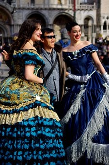 Venice, Mask, Carnival, People, Travel, Italy