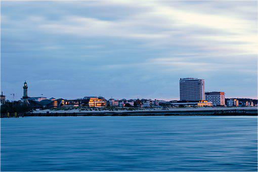 Warnemünde, Ostsee, Rostock, Lighthouse, Architecture