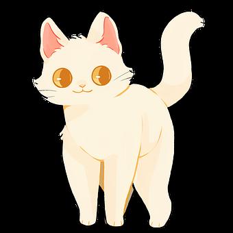 Cat, Cartoon, Kitty, Kitten, Cute, Animal, Pet, Feline