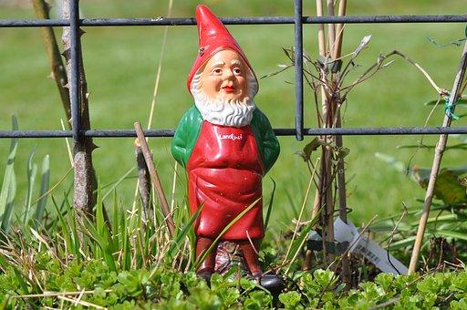 Garden Gnome, Sculpture, Garden, Statue, Figure