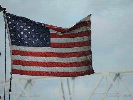 Flag, Usa, America, Patriotic, American, Stripes, Stars