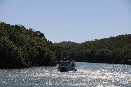 River, Boat, Island, Canímar River, Cuba, Killings