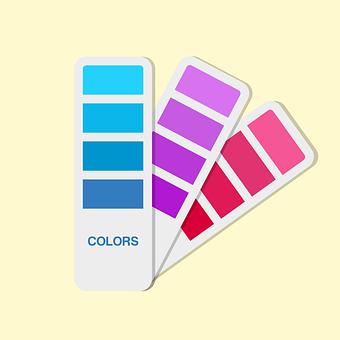 Color, Palette, Blue, Painter, Painting, Paint, Craft