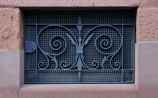 Basement, Basement Bars, Lattice Window, Art Nouveau