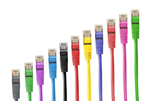 Network Cables, Line, Network Connector, Cable, Patch