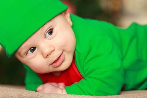 Baby Boy, Child, Christmas, Costume, Cute, December