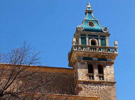Bell Tower, Tower, Great, Church, Mediterranean
