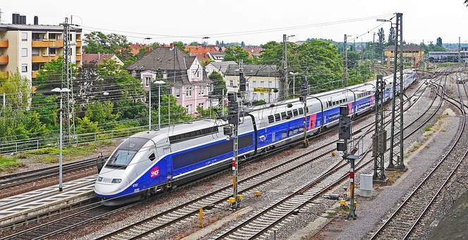 Tgv, Paris, Frankfurt, Double Decker, New, Express