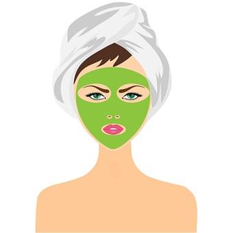 Beauty Treatment, Face Mask, Girl, Woman, Skin Care