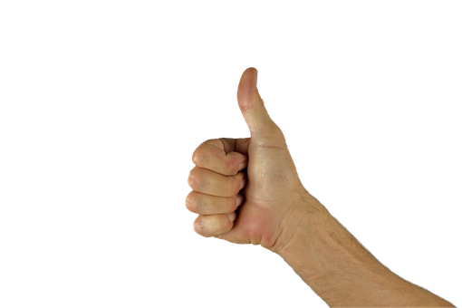 Thumbs Up, Thumb, Hand, Positive, Excellent, Great