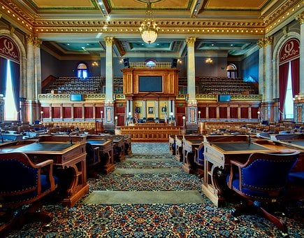 House Of Representatives, Des Moines, Iowa, Law