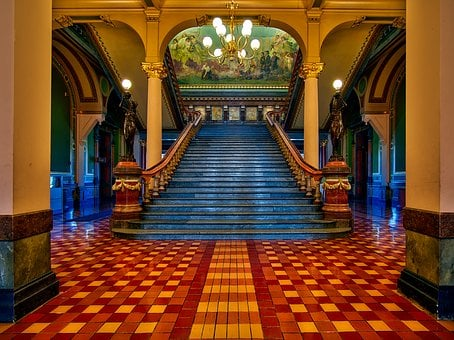 Des Moines, Iowa, State Capitol, Government, Inside