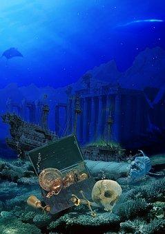 Ocean, Mysterious, Fish, Underwater, Undersea World
