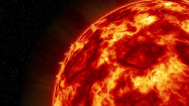 Sun, Heat, Planet, Solar System, Space, Universe