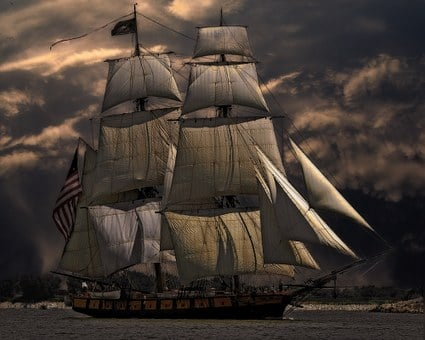 Sailing Ship, Vessel, Boat, Sea, Nautical, Sailboat