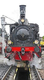 Steam Locomotive, Investigation Pit, Water Take, T3