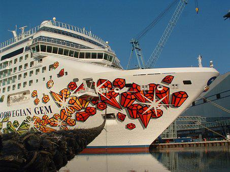 Cruise, Ship, Ocean, Travel, Sea, Vacation, Water