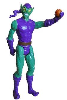 Green Goblin, Villain, Toys, Action, Figures, Criminal