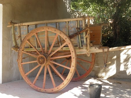 Cart, Rural, Agricultural, Rustic, Old, Wagon, Farm